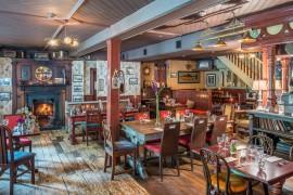 small restaurant room