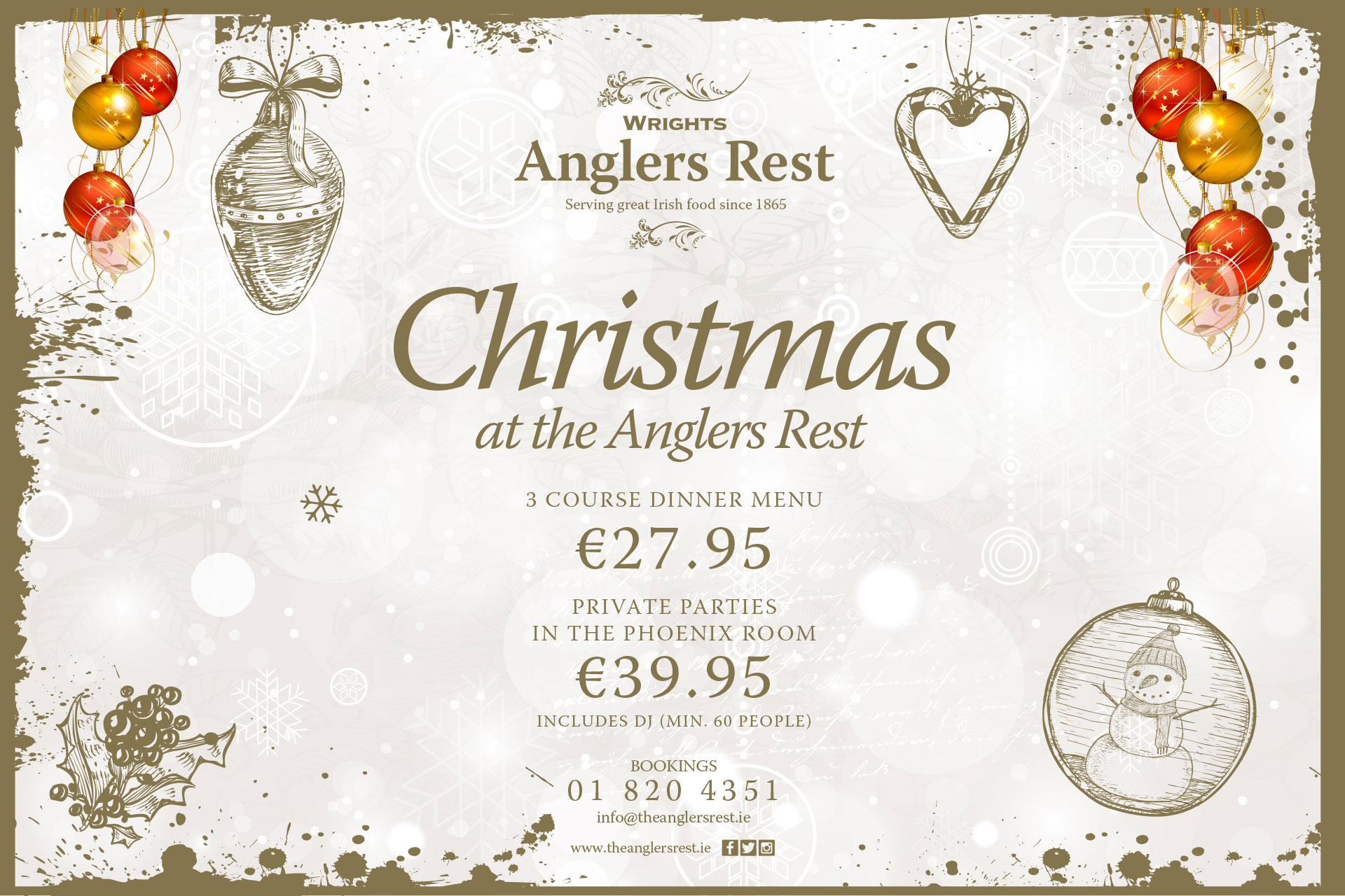 Anglers Rest Wrights Christmas Party